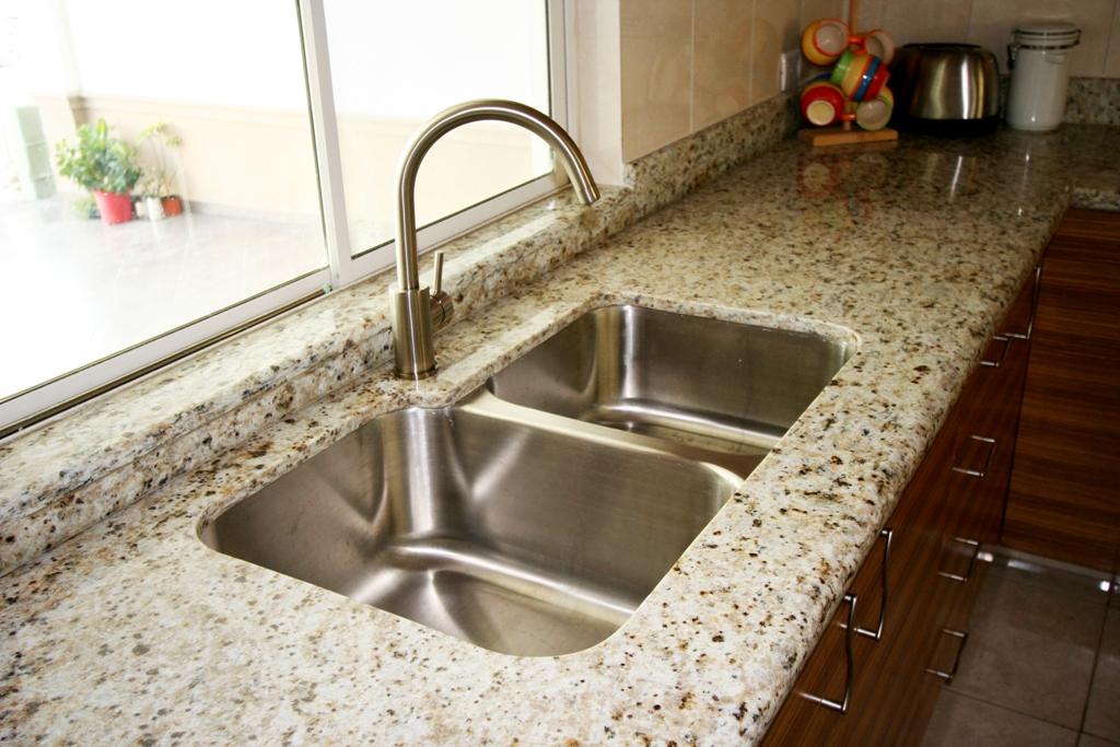 C3 cocinas closets carpinteria profesional y - Fregaderos de granito para cocina ...